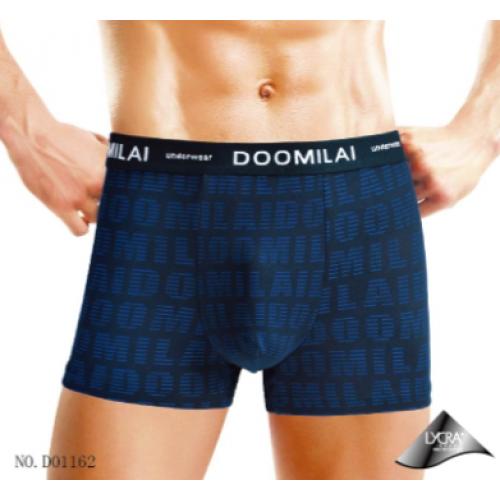 Мужские  боксёры стрейчевые DOOMILAI D-01162 (6 шт.)
