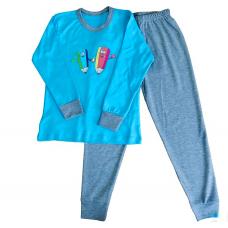 Детская пижама мальчик/девочка НатаЛюкс 94-5606