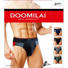 Мужские стрейчевые плавки DOOMILAI D-03004 (6 шт.)